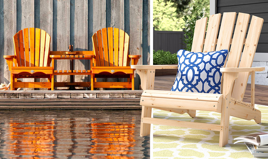 Δίπλα σε πισίνα, στους κήπους, στις αυλές, στις βεράντες ακόμη και στις παραλίες οι εν λόγω πολυθρόνες χαρίζουν στιλ και άνεση. Στο κλασικό χρώμα του ξύλου γίνονται αειθαλείς!