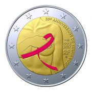 Το αναμνηστικό κέρμα των 2 ευρώ θα διατεθεί στο κοινό στις 25 Σεπτεμβρίου στη Γαλλία αλλά και σε όλη την Ευρώπη, σε 10 εκατομμύρια νομίσματα