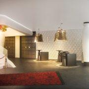 Το λόμπι του Kameha Grand Zurich αποπνέει μοντέρνα αίσθηση και καλλιτεχνική προσέγγιση