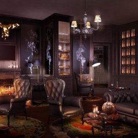 Το Smoker?s Lounge θυμίζει βρετανικό gentlemen's club, όπου μπορεί κανείς να απολαύσει πούρα και κονιάκ