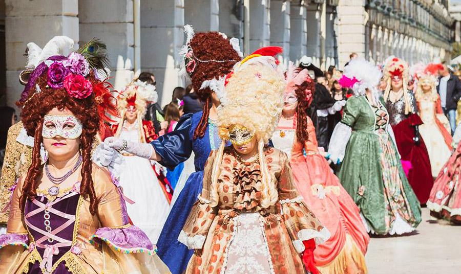 Βενετσιάνικο καρναβάλι στην Κέρκυρα