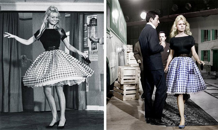 Τάση: Η εμβληματική καρό φούστα της Μπριζίτ Μπαρντό έδωσε το έναυσμα!