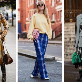 Τα καρό παντελόνι ή φούστα συνδυάζονται εύκολα με τα μποτίνια σας, ενώ δείχνουν υπέροχα με ένα χοντρό πουλόβερ και ψηλές μπότες, όπως στον Ralph Lauren