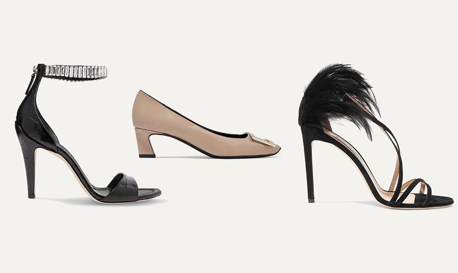Ψηλά πόδια; Διαλέξτε παπούτσια μεστολίδια, φτερά, λουράκια που κλείνουν γύρω από τον αστράγαλο αλλά και τετράγωνα χαμηλά τακούνια!
