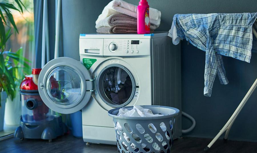 Η καθαριότητα στο πλυντήριο των ρούχων μας είναι η μισή αρχοντιά!