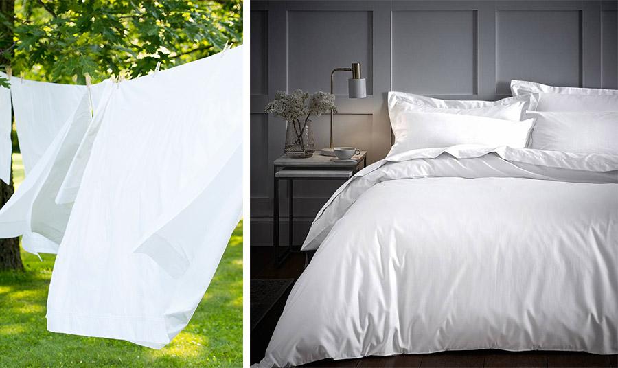 Για άψογα λευκά, στεγνώστε κατά προτίμηση στον αέρα και τον ήλιο