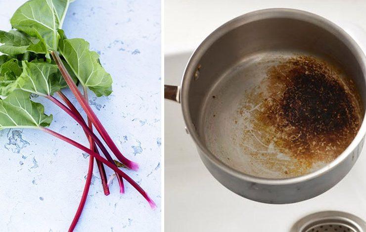 Η μαγική κίνηση για να καθαρίσετε τα μαγειρικά σκεύη από καμένο φαγητό!