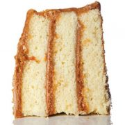 Κέικ με επικάλυψη καραμέλας