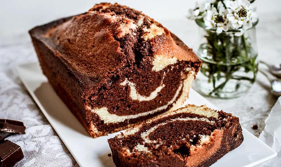 Κέικ μαρμπρέ: Η κλασική γαλλική συνταγή