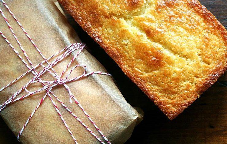Κέικ πορτοκαλιού με τυρί ρικότα