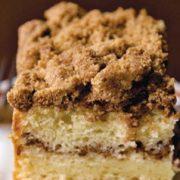 Κέικ με κανέλα και φιστίκια πεκάν