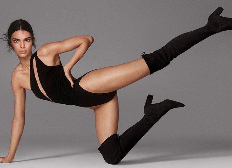 H Kendall Jenner εντυπωσιάζει στη φθινοπωρινή καμπάνια του Stuart Weitzman