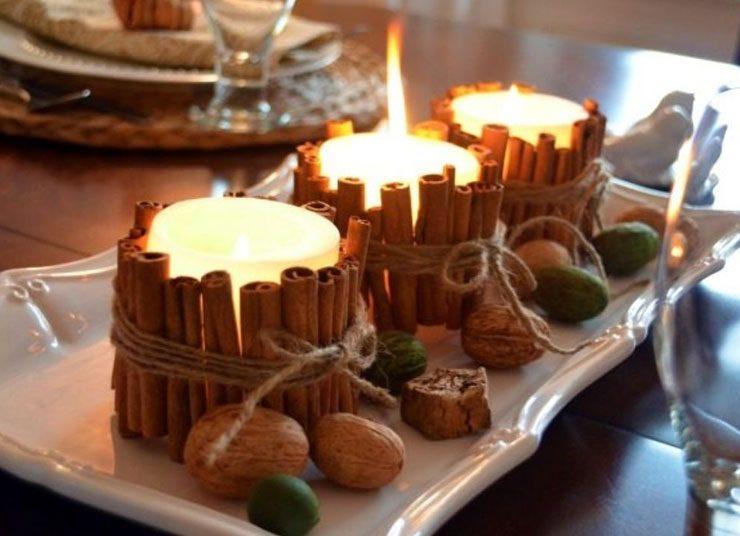 Πρωτοχρονιάτικη διακόσμηση: Φτιάξτε τα πιο γιορτινά κεριά μόνες σας