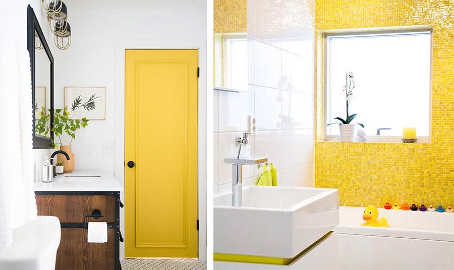 Κίτρινο μπάνιο: Χαρούμενο ξύπνημα!
