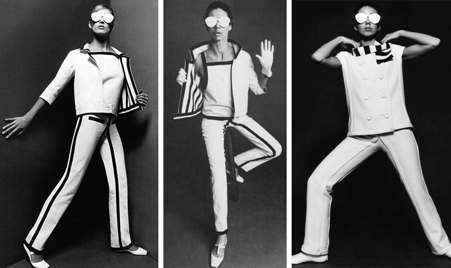Από την πρώτη συλλογή του ανατρεπτικού σχεδιαστή André Coureges το 1964