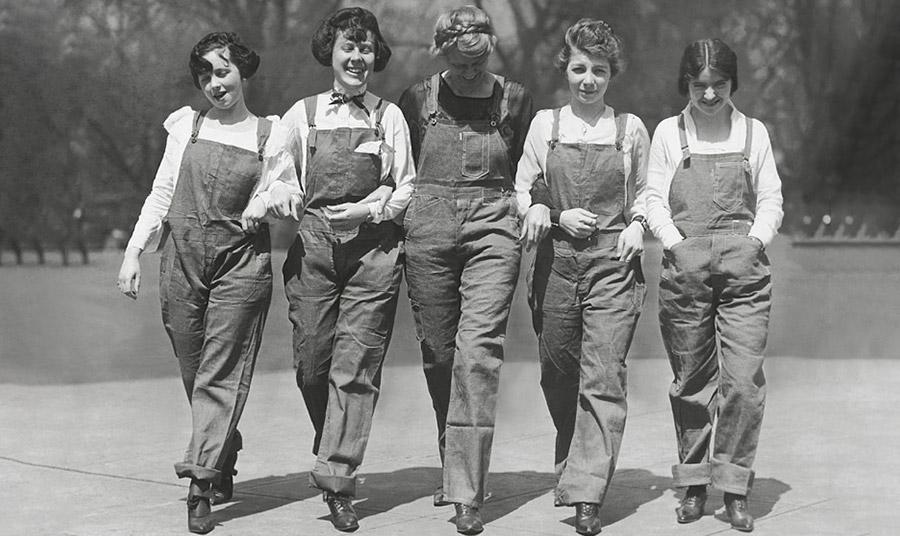 Φόρμες για τις γυναίκες-γραμματείς του Κογκρέσου, 1920