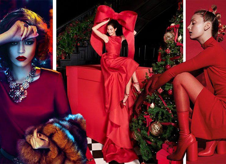 Γιορτινό φόρεμα: Φωτιά στα κόκκινα… γιατί δεν θα το βάλουμε κάτω!