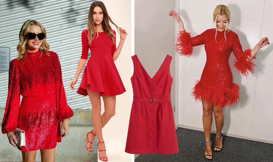 Οι παγιέτες είναι και φέτος πολύ της μόδας! // Μίνι φόρεμα με βολάν είναι μία επιλογή που απαιτεί… όμορφα πόδια και νεανικό στιλ // Μίνι φόρεμα στιλ 60s, Mango (https://shop.mango.com/gr-en/women) // Mίνι με παγιέτες και φτερά, λαμπερό και γιορτινό, Arlington (www.net-a-porter.com)