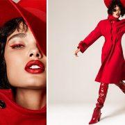 Πώς θα φορέσετε το κόκκινο παλτό