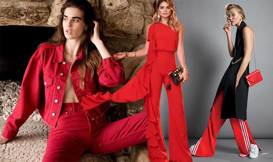 Κόκκινα παντελόνια: Φωτιά.. στα μπατζάκια μας!