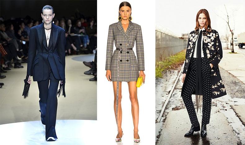 Η γκαρνταρόμπα της εργαζόμενης γυναίκας αποκτά μία πνοή υψηλής μόδας αυτή τη σεζόν, χάρη στους σχεδιαστές που προτείνουν κομψά κοστούμια με πινελιές θηλυκότητας