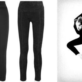 Το κολάν μπορεί να συνδυαστεί με κομψά ρούχα // Σε μαύρο χρώμα, Alexander McQueen // Βελουτέ, Tom Ford // Η Όντρεϊ Χέπμπορν με κολάν στην ταινία «Αστείο Μουτράκι»