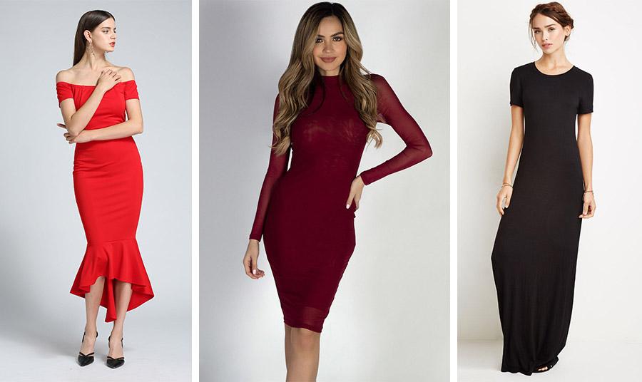 Αναδείξτε την κομψή σιλουέτα σας με ένα στενό αλλά κομψό φόρεμα που αγκαλιάζει τις καμπύλες σας