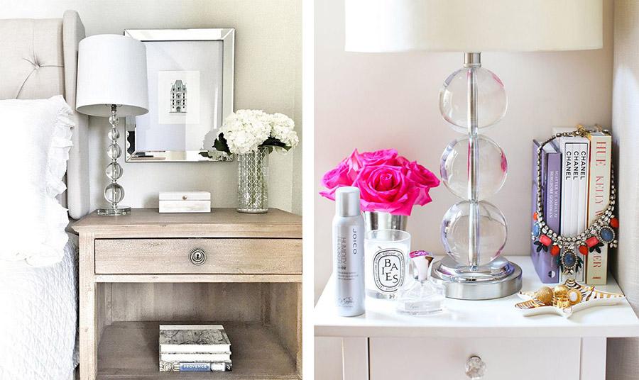 Ο φωτισμός παίζει σημαντικό ρόλο. Επιλέξτε το πορτατίφ ανάλογα με το στιλ του δωματίου και προτιμήστε ένα γλυκό φως