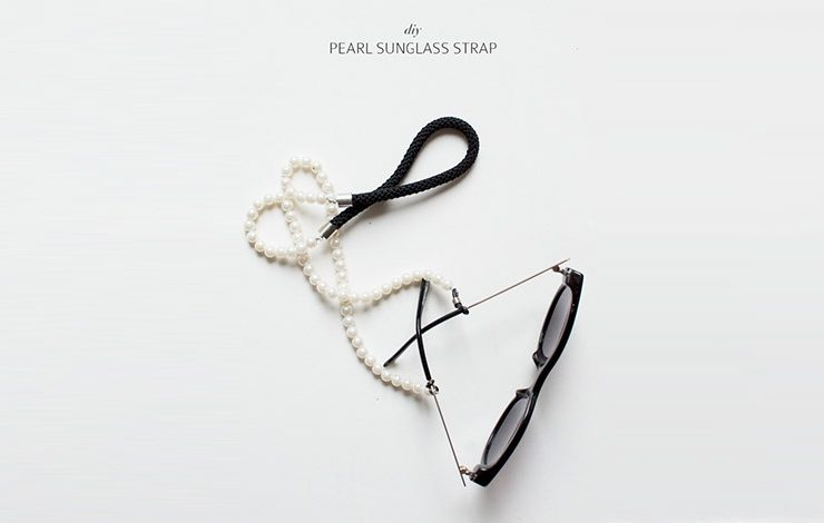 Κορδόνι γυαλιών με πέρλες! Τι λέτε να το φτιάξετε μόνες σας;