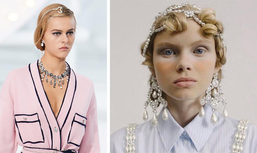 Πέρλες, διαχρονικές, επίκαιρες και της μόδας ξανά! Κι αν υπάρχει ένας οίκος που τις τιμά, δεν είναι άλλος από τη Chanel! (από την πασαρέλα άνοιξη-καλοκαίρι 2021) // Η Ιρλανδή σχεδιάστρια Simone Rocha γέμισε την πασαρέλα της επόμενης σεζόν από κοσμήματα με πέρλες