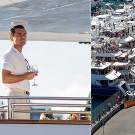 Ο Λεονάρντο ντι Κάπριο στο γύρισμα της ταινίας «Ο λύκος της Wall Street» του Μάρτιν Σκορτσέζε σε γιοτ στη Νέα Υόρκη, Photo © J.B. Nicholas/Splash News/Corbis // Στους παγκόσμιους ιστιοπλοϊκούς αγώνες 2014, Grand Prix of Monaco, Photo © Hoch Zwei/Corbis