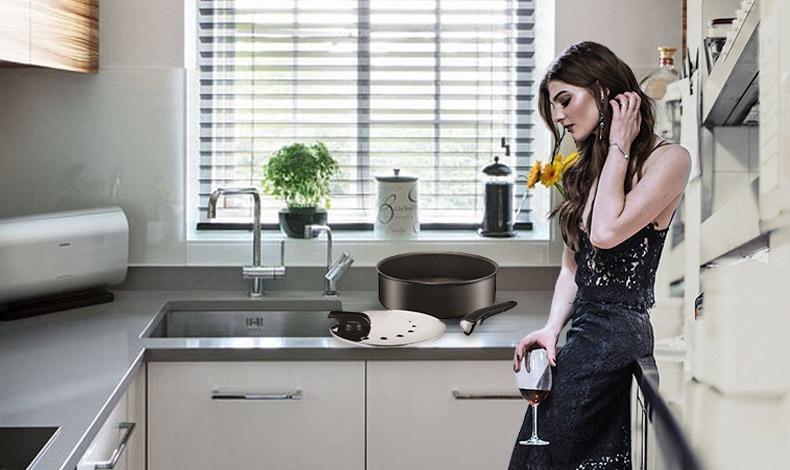 Με τα νέα σκεύη Ingenio της Tefal μπορούμε να μαγειρέψουμε το φαγητό μας στην εστία της κουζίνας αλλά και στον φούρνο και από εκεί να σερβίρουμε απευθείας στο τραπέζι ή να τους βάλουμε τα κατάλληλα καπάκια και να μπουν στο ψυγείο? ως τάπερ!