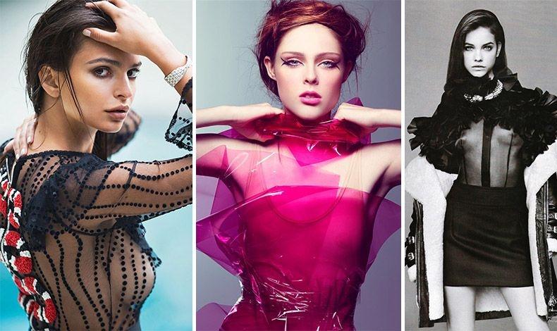 Εάν δεν είστε σίγουρες για την εμφάνισή σας ή για το πώς να φορέσετε διάφανα ρούχα, αποφύγετέ τα ή επιλέξτε με πολλή προσοχή!