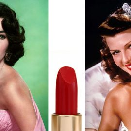 Οι δεκαετίες του ΄40 και του ΄50 εισήγαγαν τα φλογερά κόκκινα χείλη, όπως οι σταρ του σινεμά, η Ελίζαμπεθ Τέιλορ ή η Ρίτα Χέιγουρθ