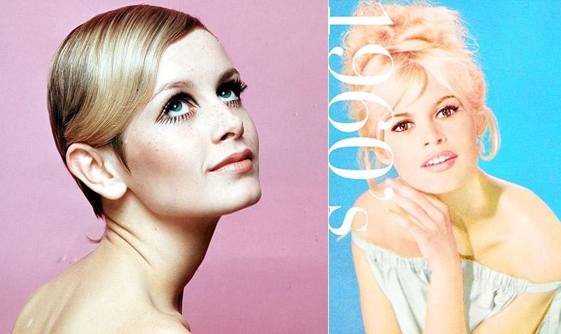 Η δεκαετία του ?60 έρχεται με.. φόρα να ανατρέψει τα πράγματα! Η Τουίγκι ή η Μπριζίτ Μπαρντό αλλάζουν τα πρότυπα και τα χείλη γίνονται? ροζ