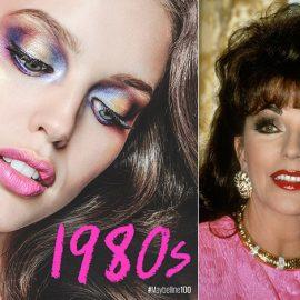 Το μότο «όσο πιο τολμηρό μακιγιάζ, τόσο και πιο όμορφο το αποτέλεσμα», κυριάρχησε σε όλη τη δεκαετία των ?80s // Η Τζόαν Κόλλινς και η «Δυναστεία» πρωταγωνιστούν
