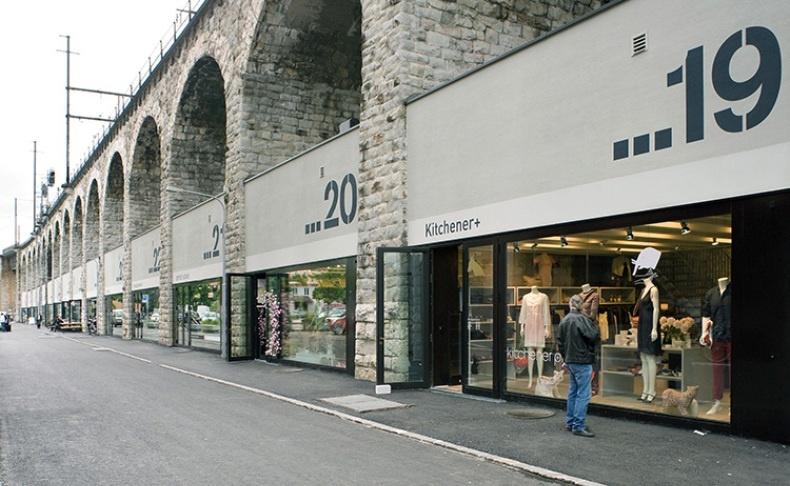 Μοντέρνες μπουτίκ, κομψά καταστήματα και μία πλειάδα γκαλερί συνθέτουν την Kreis 5