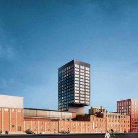 Το ανακαινισμένο κτίριο της ζυθοποιίας Löwenbräu, όπου στεγάζεται το Κέντρο Τεχνών
