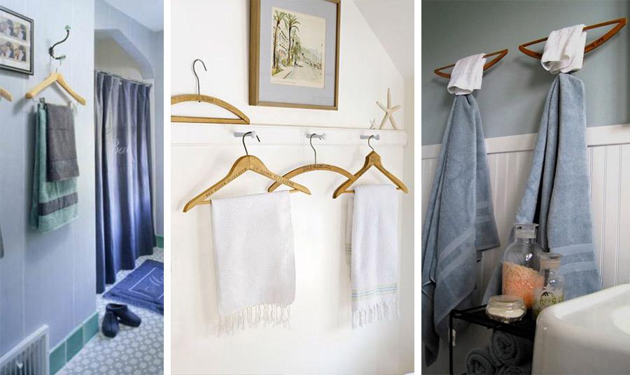 Για τις πετσέτες στο μπάνιο