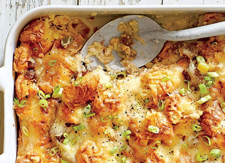 Κρουασάν στον φούρνο με κρέμα τυριών για το πρωινό της Πρωτοχρονιάς!