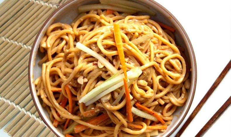 Κρύα Νουντλς με λαχανικά