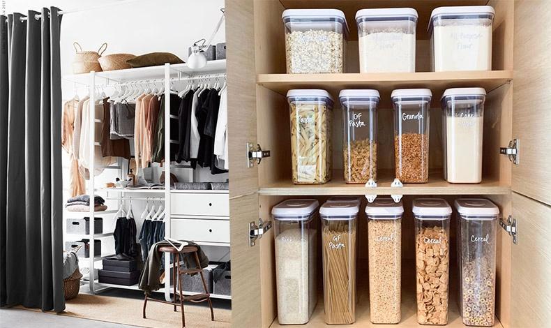 Βάλτε σε τάξη την ντουλάπα σας και καθαρίστε και ανανεώστε τα ντουλάπια της κουζίνας σας!