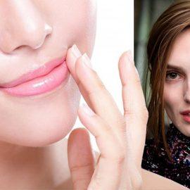 Στον αντίποδα, οι παστέλ ροζ ή nude αποχρώσεις και χρήση ενός διάφανου lip gloss