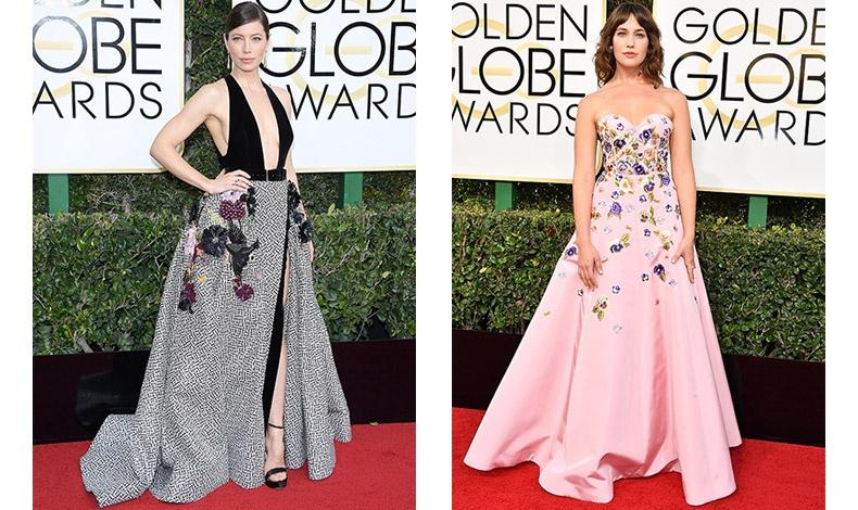 Αποκαλύπτοντας τη σύγχρονη κομψότητα, η Jessica Biel, με δημιουργία Elie Saab // Πανέμορφο ροζ για την Lola Kirke και το κεντημένο φόρεμα του Andrew Gn