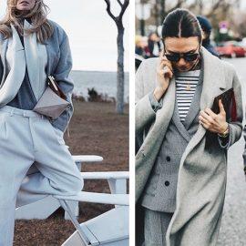 Συνδυάστε ένα κλασικό ή και αυστηρό κοστούμι με ιδιαίτερα Τ-shirt, πουλόβερ με γυριστό γιακά και μακρύ παλτό, δίνοντας άλλον αέρα κομψότητας στην επαγγελματική σας εμφάνιση