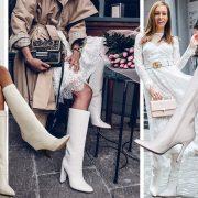5 λόγοι για να φορέσετε λευκές μπότες
