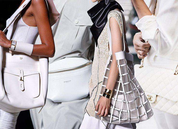 Τάση: Οι λευκές τσάντες κλασικά… της μόδας!