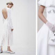 Συνδυάστε ένα λευκό φόρεμα με ασημί αξεσουάρ