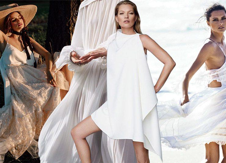 Το καλοκαιρινό λευκό φόρεμα και η αξεπέραστη γοητεία του!