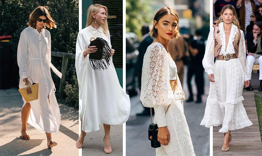 Σε γραμμή shirt dress για όλη την ημέρα, σε άνετη γραμμή για τις βόλτες σας στην πόλη, από δαντέλα για sexy chic στιλ, σε ρομαντική και ελαφρά χίπικη διάθεση (όπως η τελευταία φωτογραφία από τη συλλογή άνοιξη-καλοκαίρι 2020, Etro), οι επιλογές είναι πολλές